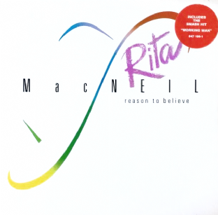 Rita MacNeil ‎- Reason To Believe (LP) (EX/VG-)